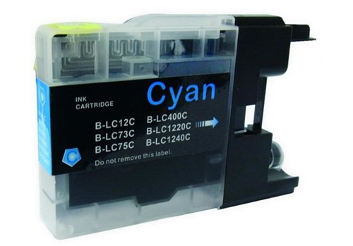 Inktcartridge Wibber Brother LC-1240 Cyaan