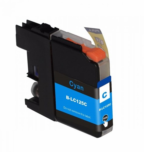 Inktcartridge Wibber Brother LC-125 Cyaan XL