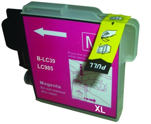 Inktcartridge Wibber Brother LC-985 Magenta